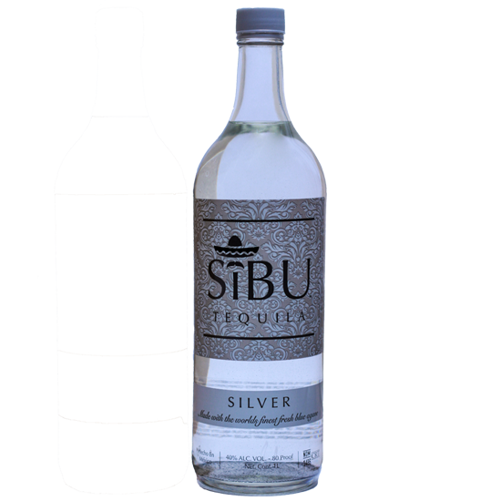 Web Sibu Silver Bottle png