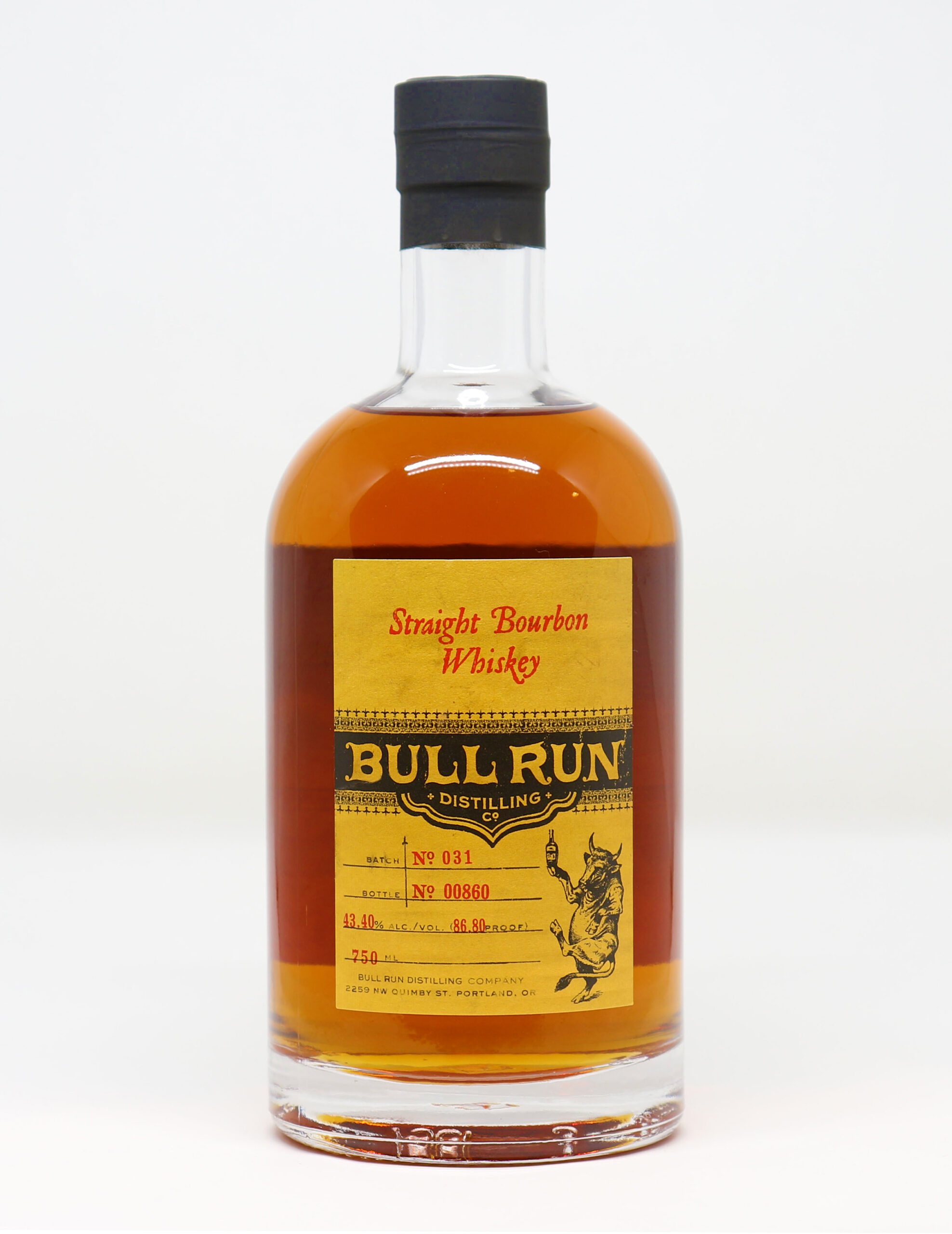 Bull Run – Straight Bourbon Whiskey