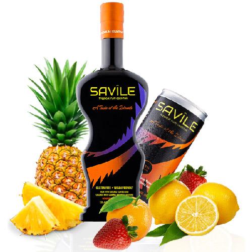 Savile Tropical Rum Cocktail
